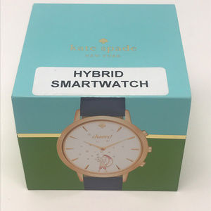kate spade Accessories - Kate Spade Navy Blue Hybrid Smartwatch